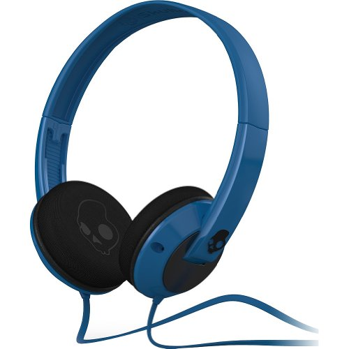Skullcandy Uprock On Ear Wired Headphone - Blue/Black / One Size