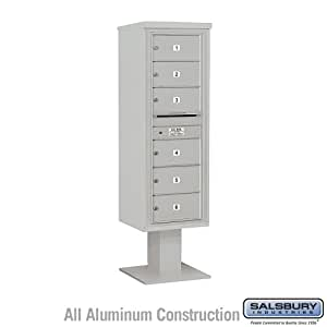 4C Pedestal Mailbox (Includes 13 Inch High Pedestal and Master