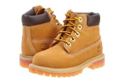Timberland 6 Inch Premium Boots Toddlers Style: 12809-Wheat/Ble Size: 7