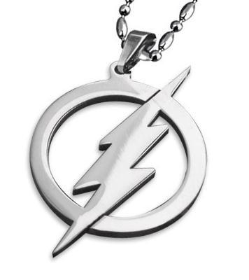 Men's Necklace Men Necklace Titanium Justice League Superman the Flash Necklace Gifts