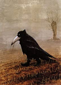 (20x28) Rudi Hurzlmeier Crow Art Print Poster