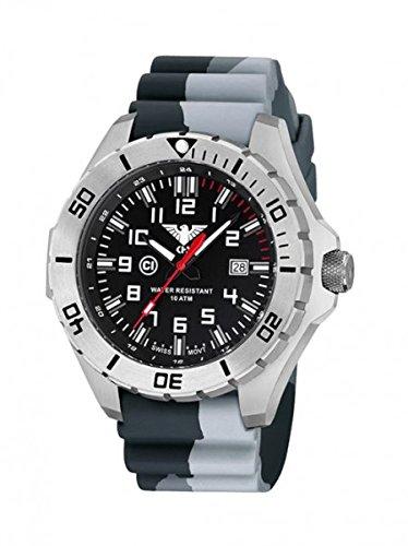 KHS Tactical orologio uomo Landleader Steel KHS.LANS.DC1