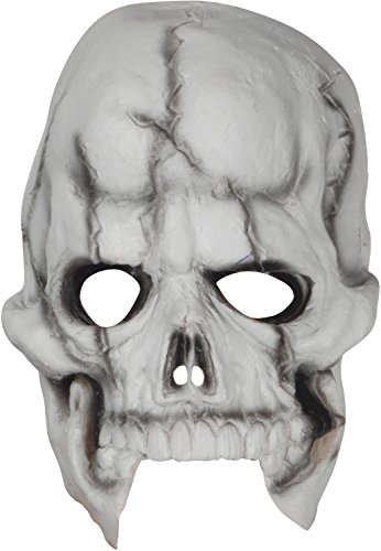 Loftus Halloween Skeleton Costume Face Mask White Black One Size