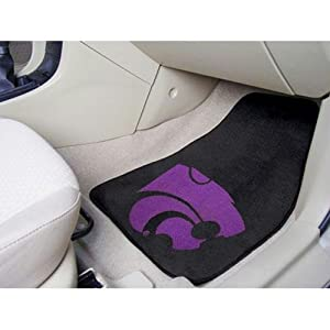 Kansas State Wildcats NCAA Car Floor Mats (2 Front) by Fanmats