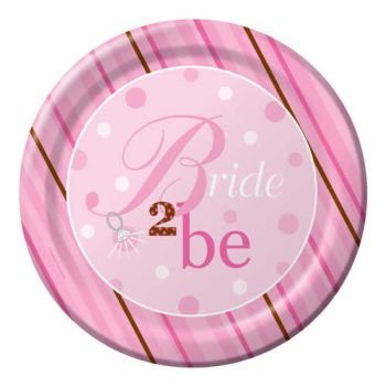 Bride To Be Dinner Plates 8ct - 1