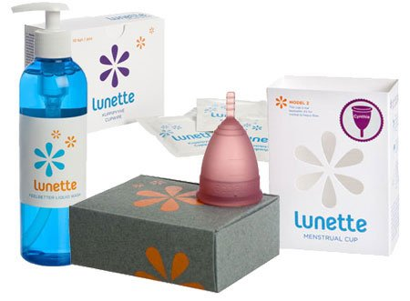 Find Bargain Lunette Purple Cynthia Menstrual Cup with 10 Cupwipes/ Desinfecting Wipes and Feelbette...