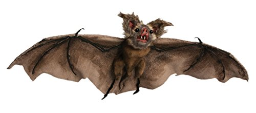Realistic Hanging Brown Bat
