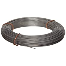Stainless Steel 302 Wire, 1 lb Coil, Smooth, Spring Temper, Precision Tolerance, ASTM A555, AMS 5688, ASTM A313, ASTM A580