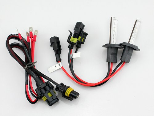 Mogoi(Tm) Black Alternating Current Ac 35W Digital Hid H7 Single Lamp 4300K Xenon Bulb With Mogoi Accessory