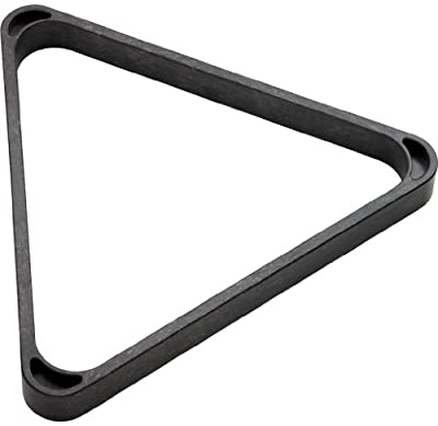 Heavy Duty Plastic 8-Ball Triangle Rack