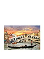 Best seller living Lienzo Riolta Bridge And Venice