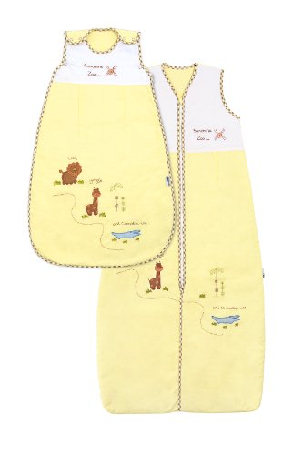 Baby Summer Sleeping Bag approx. 0.5 Tog - Zoo - 12-36 months/43inch