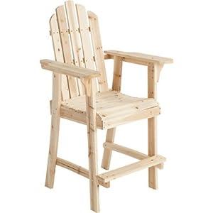 Amazon Tall Cedar Fir Adirondack Chair Model SS