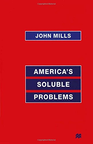 America's Soluble Problems