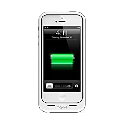 mophie juice pack Air for iPhone 5/5s/5se (1700mAh) - White