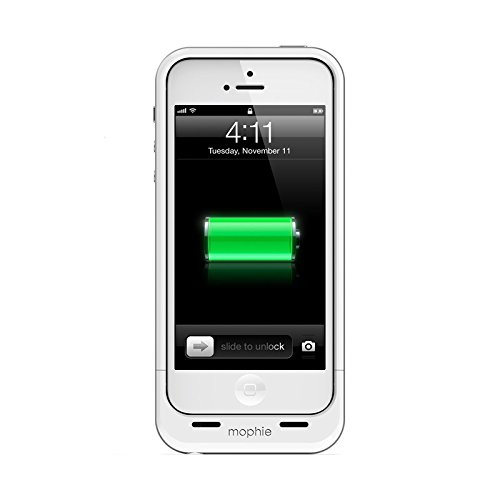 Mophie 2106JPAIP5-WHT Juice Pack Air Cell Phone battery case Retail Mophie sealed packaging White In color for Iphone 5 (Iphone Battery Case 5 compare prices)