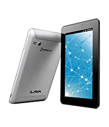 Lava ETab Connect+ Tablet (WiFi, 3G, Voice Calling), Silver