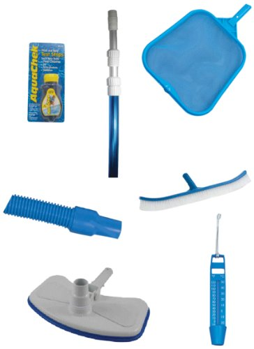 Embassy Pool 5-Poolclean 7-Piece Pool Cleaning Kit