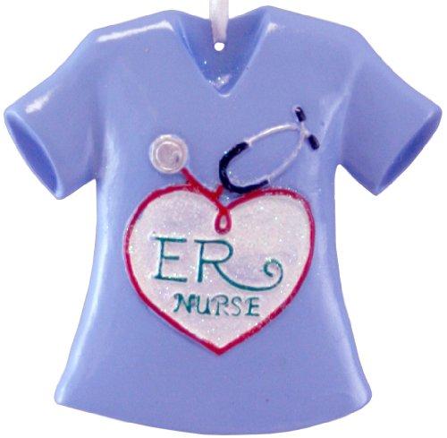 ER Nurse Christmas Ornaments [A1254A]
