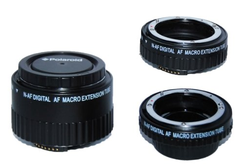 Polaroid For Nikon Auto Focus DG Macro Extension Tube Set .........CLICK FOR MY VIDEO REVIEW