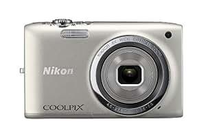 Nikon Coolpix S2700 Digitalkamera (16 Megapixel, 6-fach opt. Zoom, 6,7 cm (2,7 Zoll) TFT-Display) silber