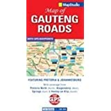 Streetmap Roads of Gauteng