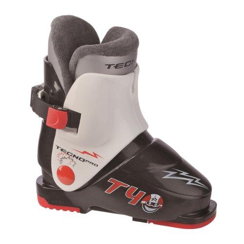 TECNOPRO Ski-Stiefel T40, schw/weiss/rot,23,5