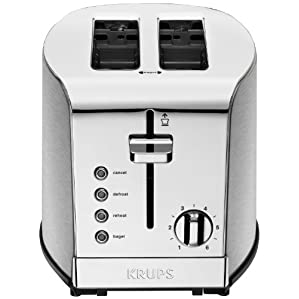 KRUPS KH732D50 Breakfast Set 2-Slice Toaster