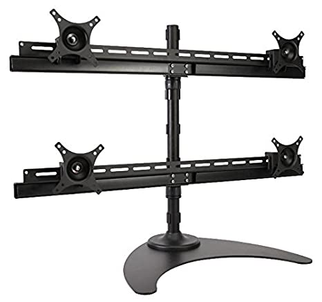 PEERLESS LCZ-4F430B QUAD LCD MONITOR DESK STAND [1] Pro-Series (Epitome Verified)