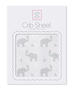 SwaddleDesigns Fitted Crib Sheet