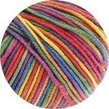 """Lana Grossa Merino superfein """"Cool Wool"""" 703 light rainbow 50g Wolle"""
