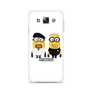 Ebby Minion Mythbusters Premium Printed Case For Samsung E7