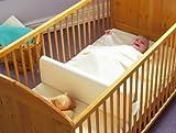 Trennwand-fr-BabybettGitterbett-fr-1-oder-2-Kinder-Zwillinge-Gitterbett-Teiler