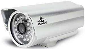 Agasio A612-POE Outdoor IP Camera with Power Over Ethernet