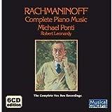 echange, troc Michael Ponti - Rachmaninoff : Complete Piano Music