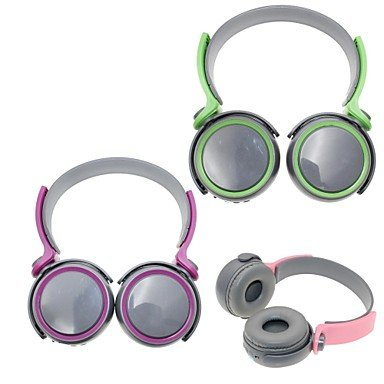 Zcl D-400 8 In 1 Bluetooth V3.0 Stereo Headband Headphone With Tf/Microphone / Fm/Radio Tuner/Music , Green
