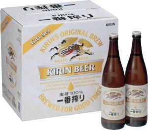 K-NISB12 キリン一番搾り生ビール大瓶セット (12本) 633ML*12ホン 1セット