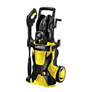 Karcher X-Series featuring the Industrys First Water Cooled Induction Motor 2000PSI Electric Pressure Washer with 25-Foot Hose and Hose Reel K5.540