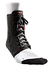 McDavid Classic Lightweight Laced Ankle Brace , Black, Small Classic