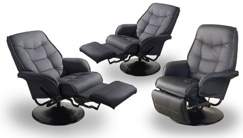 Great  New Black Recliners Great for Home Movie Theater Seating