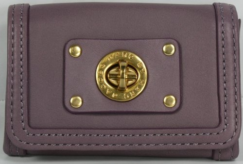 Marc Jacobs Totally Turnlock Card Case Wallet Lilac