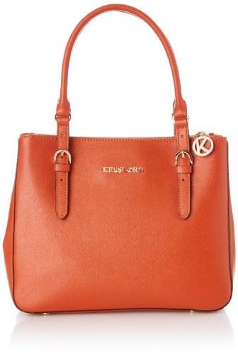 Kesslord Women's Suzie Top-Handle Bag Orange Orange (Brique) Taille Unique