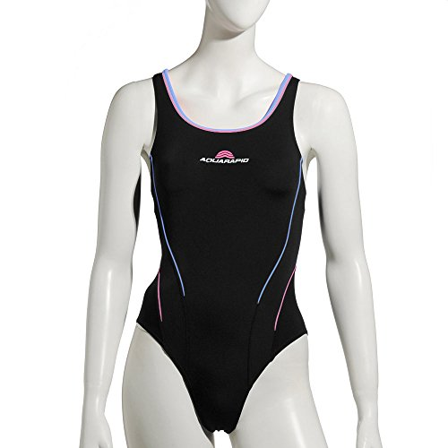 Aquarapid Arka Costume Donna, Nero, 50
