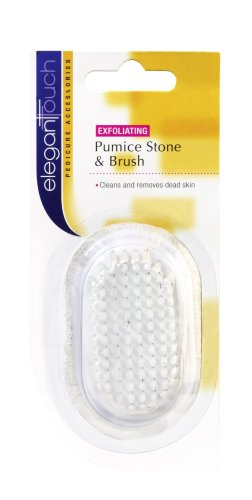 Elegant Touch Pumice Stone & Brush
