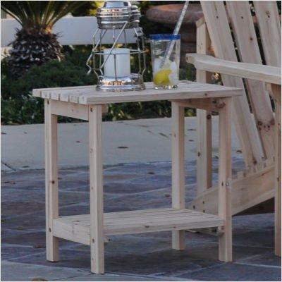 Rectangular Cedar Side Table Color: Natural