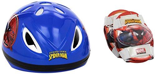 Mondo Motors - Jeu de Plein Air - Casque + Protections - Spiderman