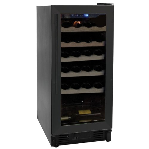 Why Choose Haier HVCE15DBH Built-In or Freestanding 26-Bottle Wine Cellar with Thermal Glass Door