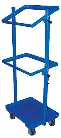 """Vestil TSCT Steel Stock Cart, 27-1/2"""" Length x 18-1/4"""" Width"""