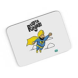 PosterGuy A4 Mouse Pad - Being Indian Udta Punjabi | Designed by: Being Indian