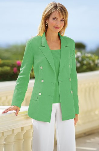 Petite Double-Breasted Blazer - Buy Petite Double-Breasted Blazer - Purchase Petite Double-Breasted Blazer (CCO, CCO Suits, CCO Womens Suits, Apparel, Departments, Women, Suits & Separates, Womens Suits, Blazers & Suit Jackets, Womens Blazers & Suit Jackets)